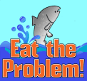 Eat the Problem! Menu logo